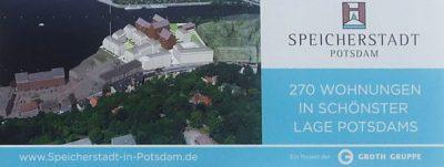 Speicherstadt Potsdam: Berliner Groth Gruppe entwickelt Wohnquartier