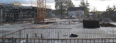 Dalfsen: Betonvloer parkeergarage Waterfront gestort