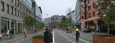 Pforzheim. Die Zerrennerstraße wird zum Stadtboulevard