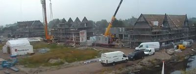 Roelofarendsveen – De Oevers: Time-lapse video of the construction progress