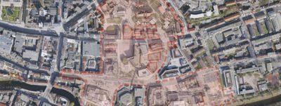 Pforzheim. Entwicklung der östlichen Innenstadt