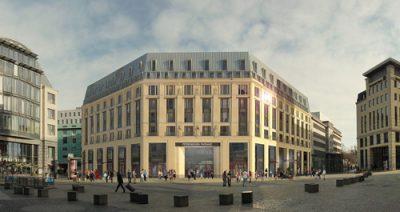 Entwürfe für das Burgplatzloch in Leipzig werden vorgestellt