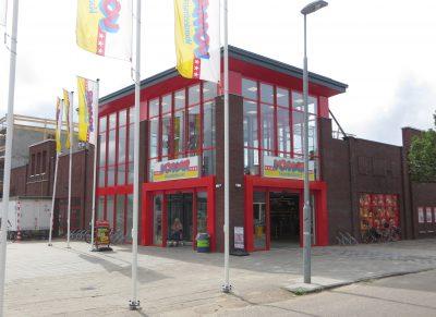 Oplevering entree Vomar Haarlem