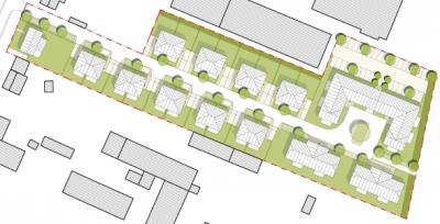 B-Plan für Wohnquartier in Eberswalde