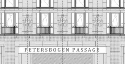 Baubeginn Burgplatz Leipzig