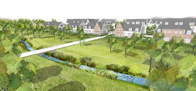 Baubeginn Grüne Aue Biesdorf