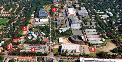 Bebauungsplan 119 'Medienstadt' Babelsberg | Start frühzeitige Bürgerbeteiligung