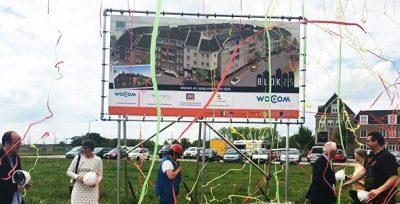 Feestelijke start bouw Blok 25 in Brandevoort