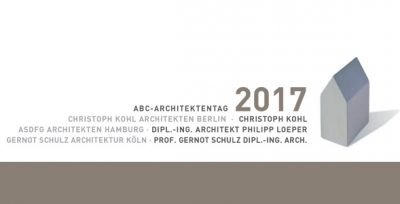 ABC-Architektentag am 20. September 2017