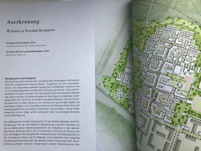 Anerkennung für Wettbewerbsbeitrag Potsdam-Krampnitz
