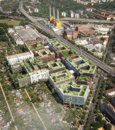 Gewerbehöfequartier auf dem Areal der alten Tabakfabrik Reemtsma