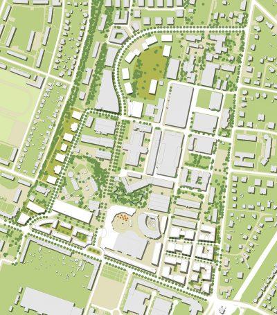 Bebauungsplanung für Filmpark Babelsberg