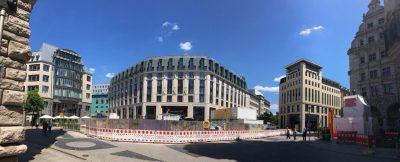 Das Rätsel um die sechs Fassaden-Figuren vom Burgplatz Leipzig ist gelöst.