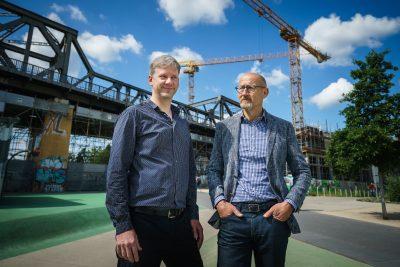 Online-Magazin zum Quartiersprojekt Oranjekade