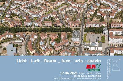 Licht – Luft – Raum | Vortrag für Architekturstiftung Südtirol
