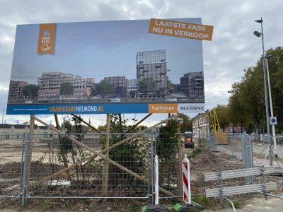 Start Bouw Oranjekade Helmond